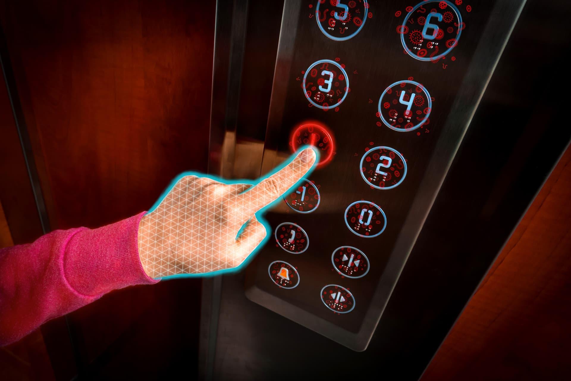 Cystawash Germ Free In Elevator